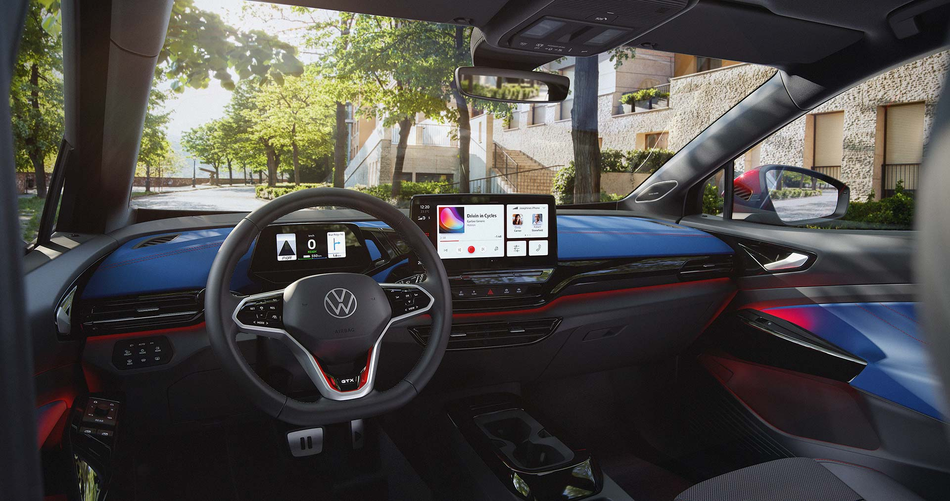 Interior Volkswagen ID.4 GTX