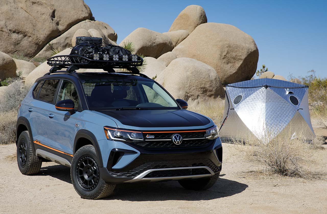 El Volkswagen Taos más aventurero