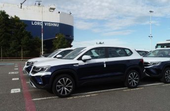 Volkswagen Argentina ya exporta su nuevo SUV Taos a la región América Latina
