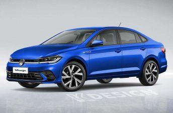 Así sería el restyling del Volkswagen Virtus