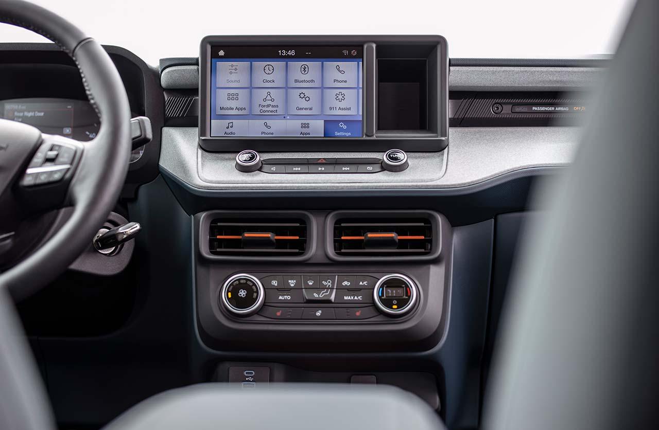 Interior Ford Maverick