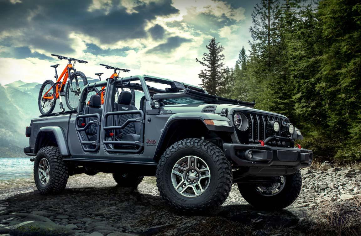 El Jeep Gladiator ya tiene su línea de accesorios