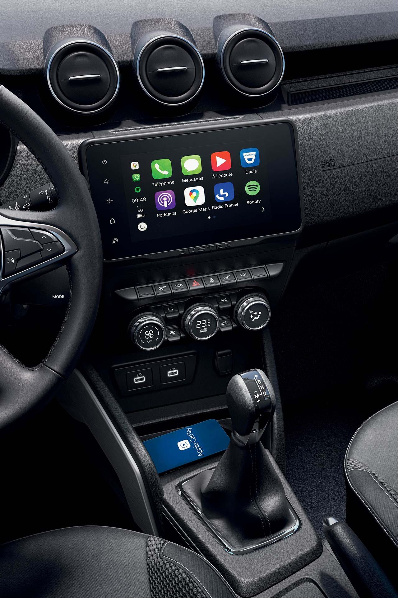 Interior Nueva Dacia Duster 2022