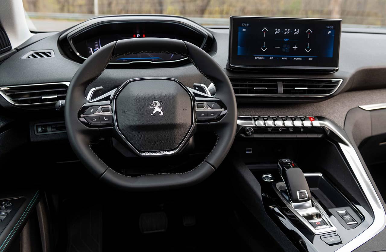 Interior nuevo Peugeot 3008 y 5008