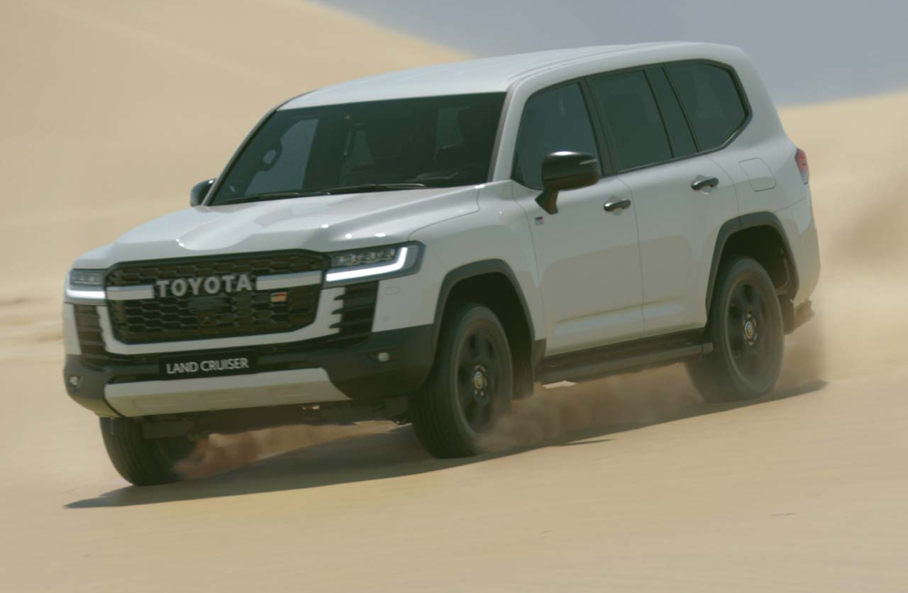 Toyota Land Cruiser Gazoo Racing 2022