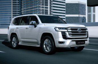Con ustedes, la nueva Toyota Land Cruiser