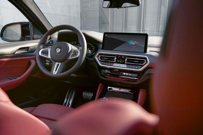 Interior BMW X4 2021