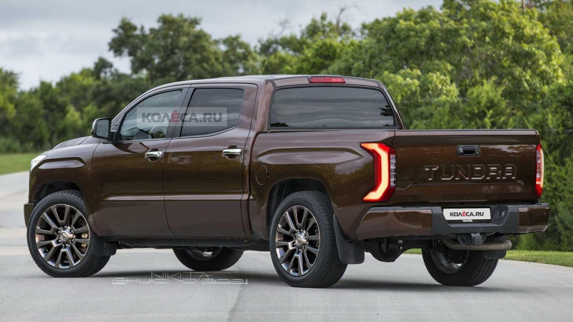 Toyota Tundra 2022 render