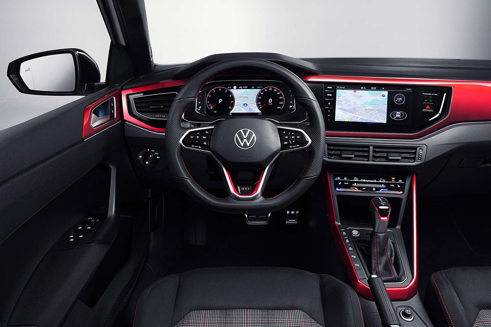 Interior Nuevo Volkswagen Polo GTI 2021