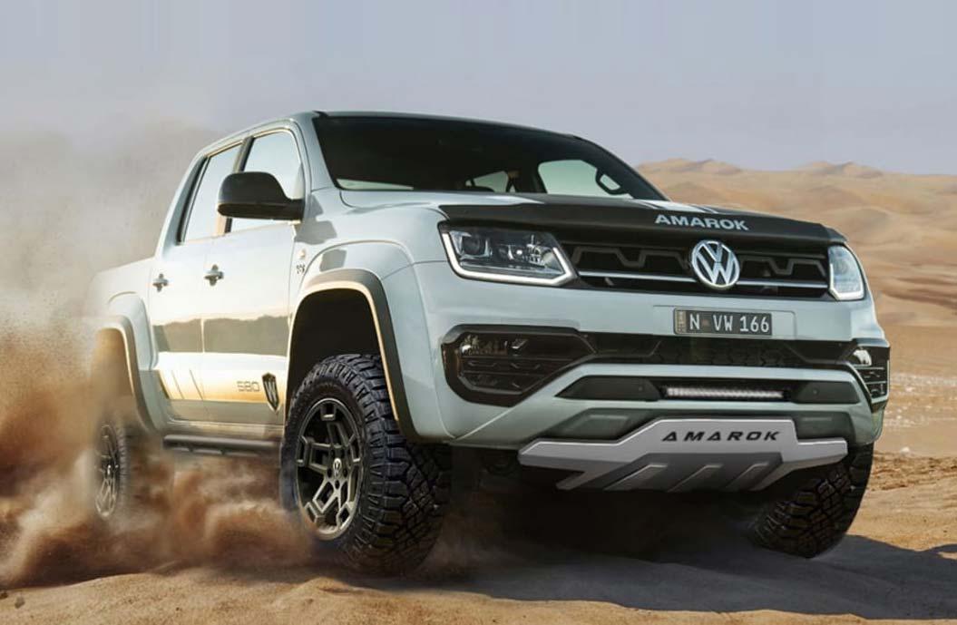 W580X : hay una nueva Volkswagen Amarok