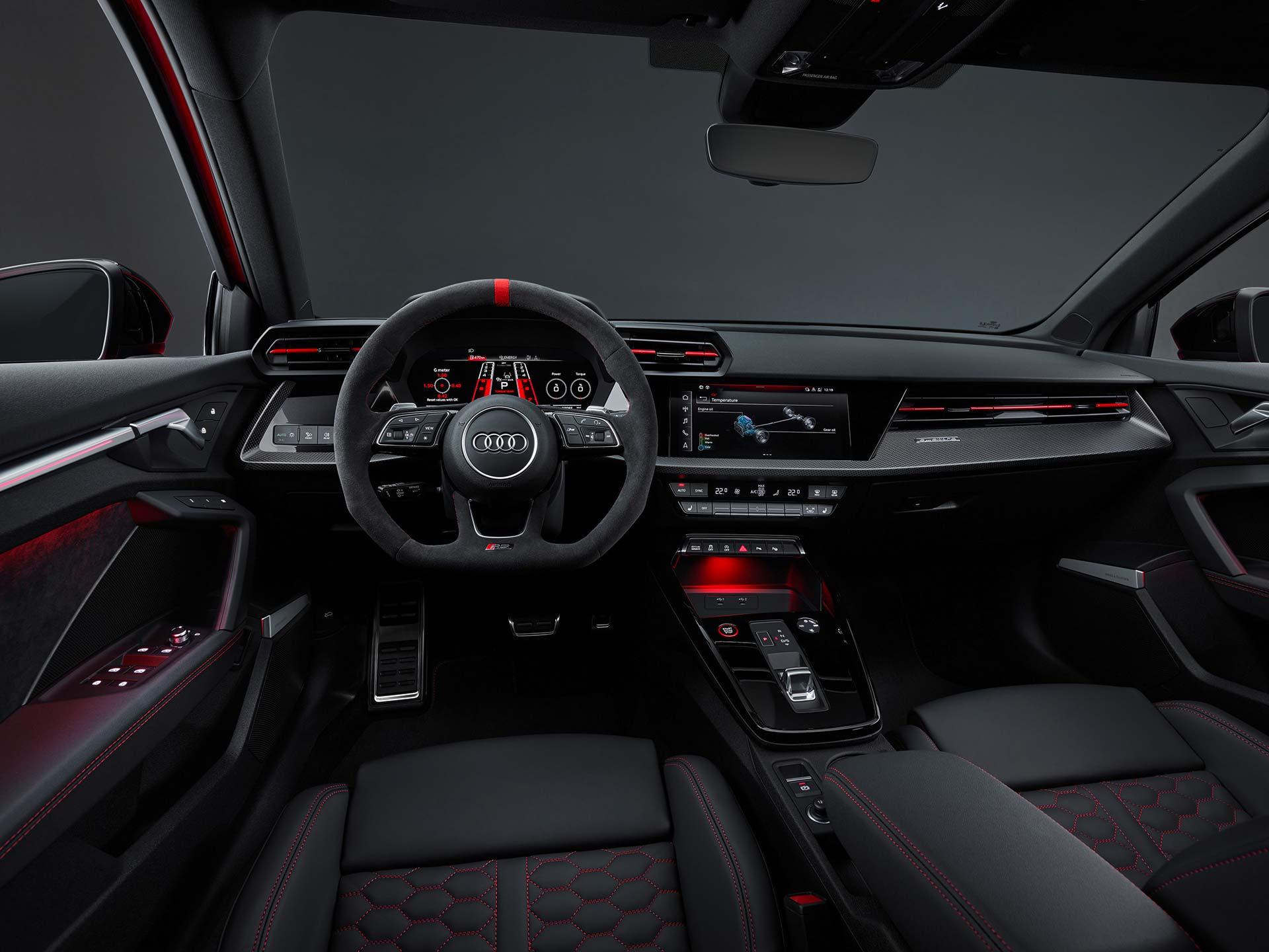 Interior Nuevo Audi RS3 2022