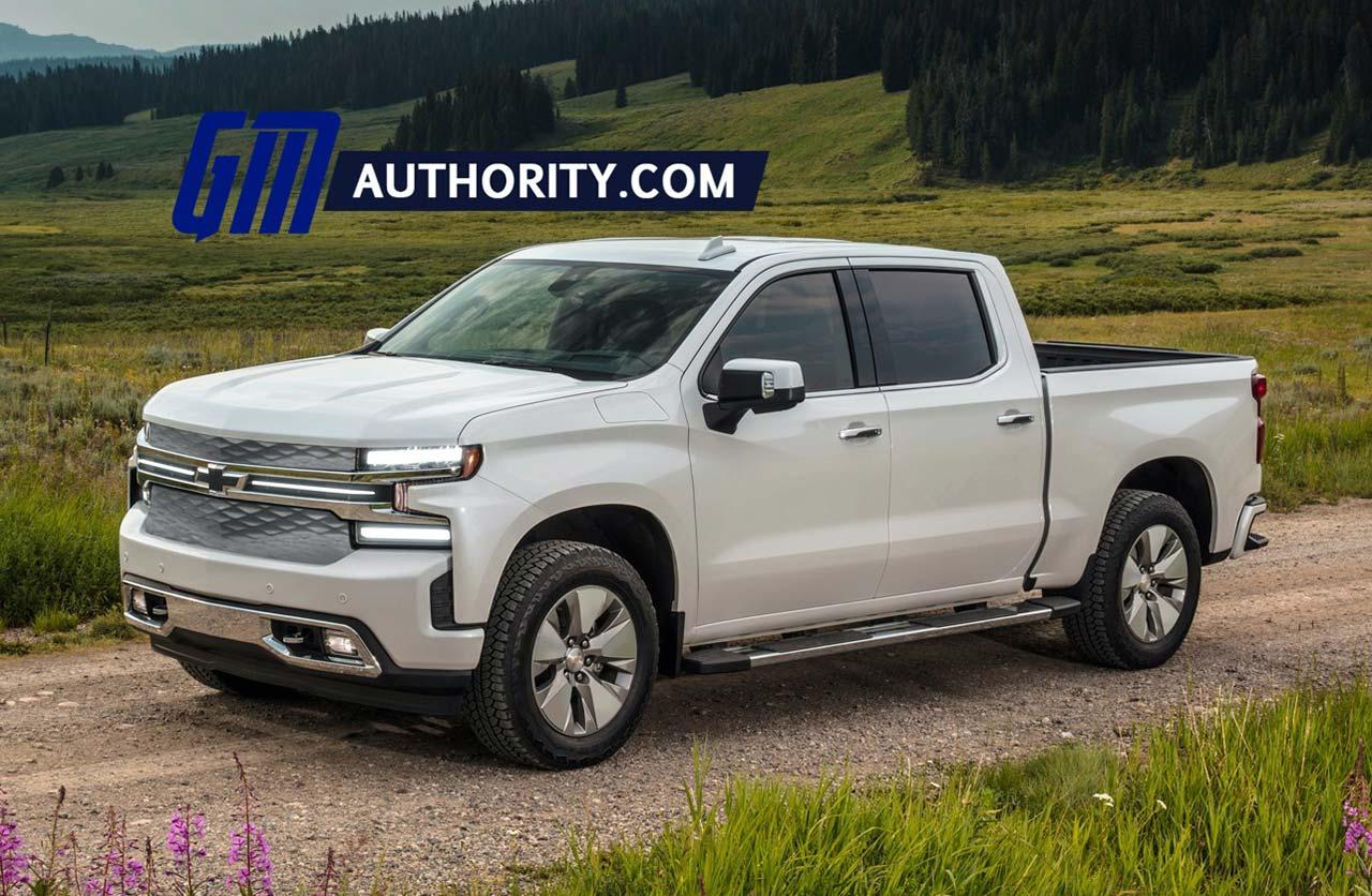 Chevrolet Silverado eléctrica: ¿será así?