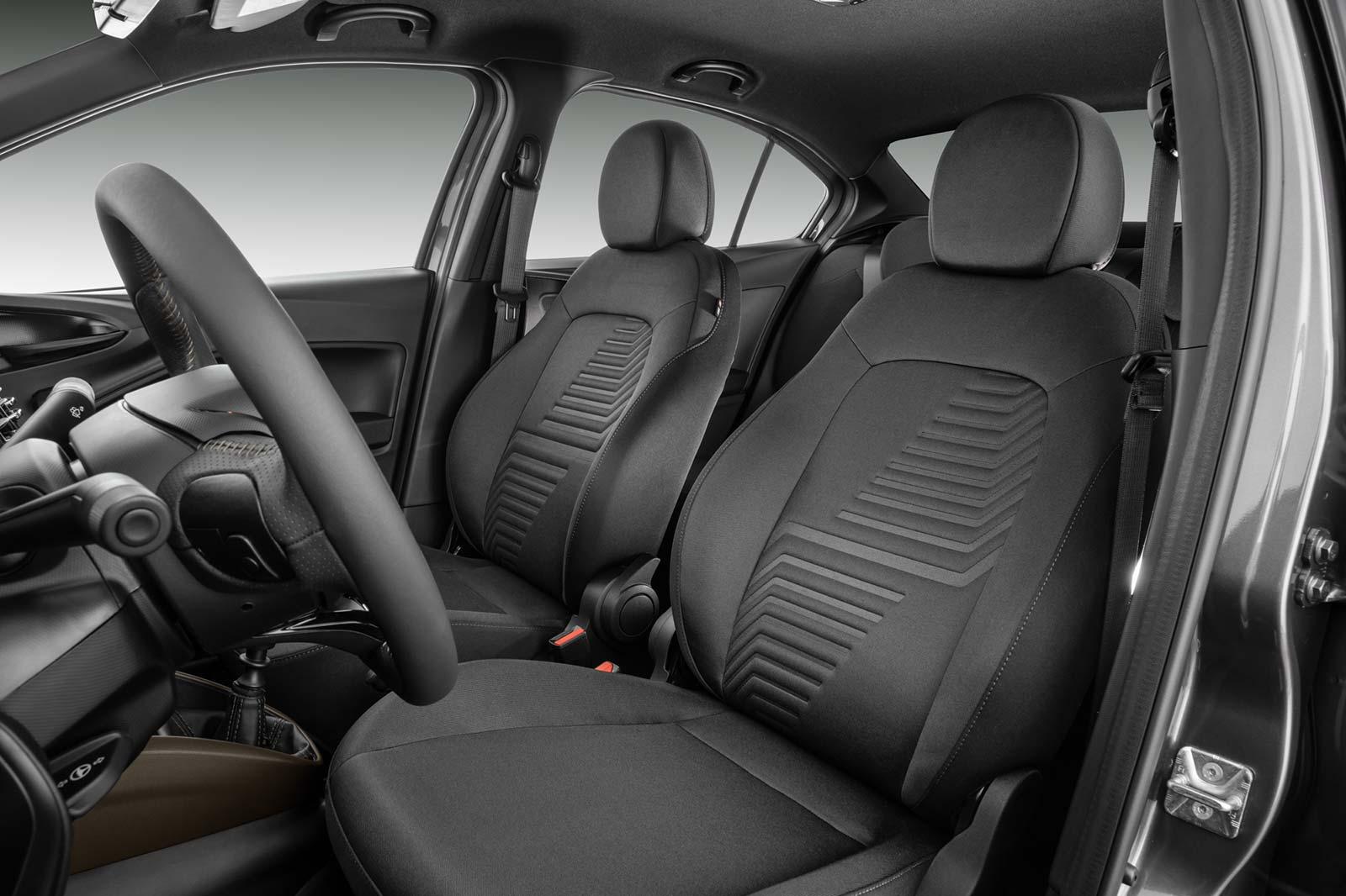 Interior Fiat Cronos S-Design 2022