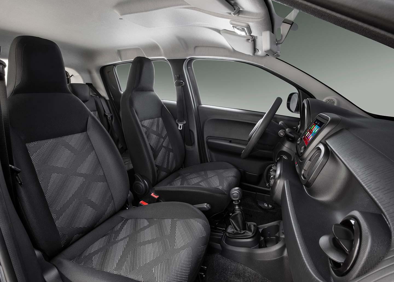 Interior Fiat Mobi 2021