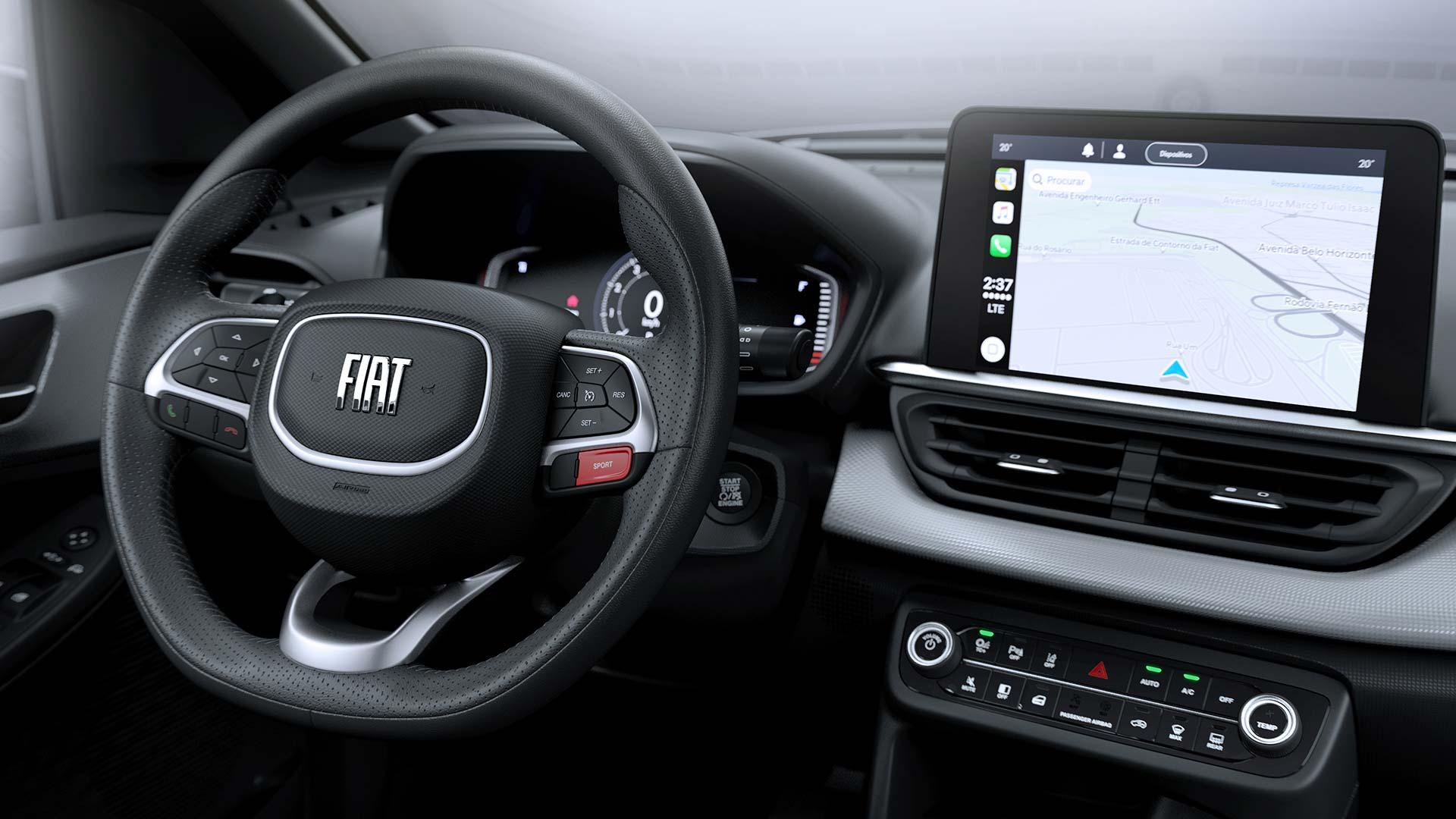 Interior Fiat Pulse