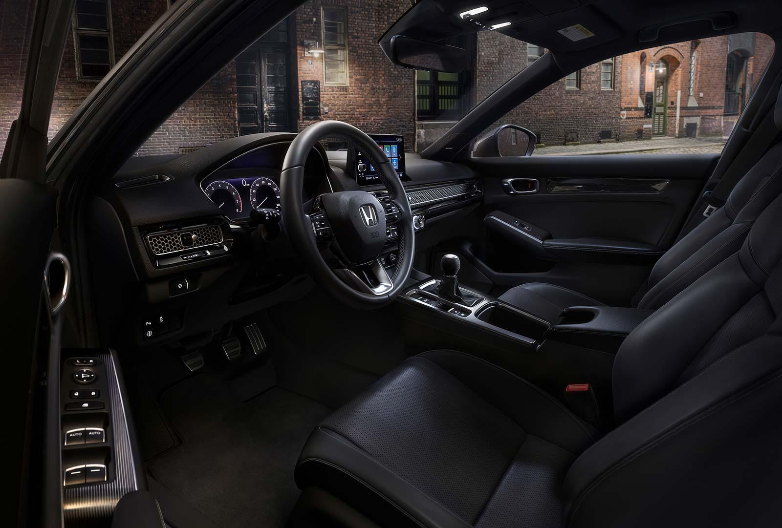 Interior Nuevo Honda Civic Hatchback 2022