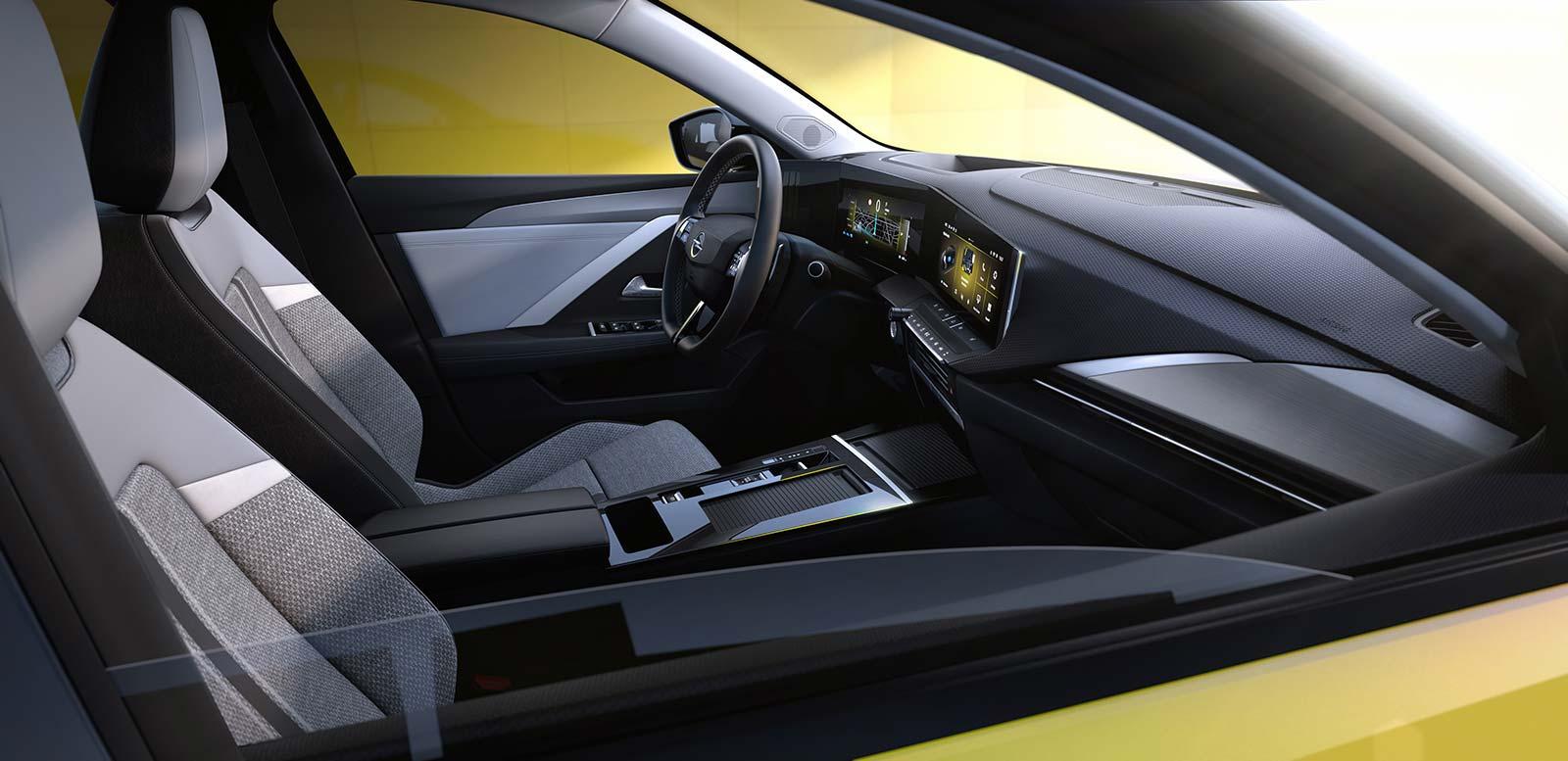 Interior nuevo Opel Astra 2022