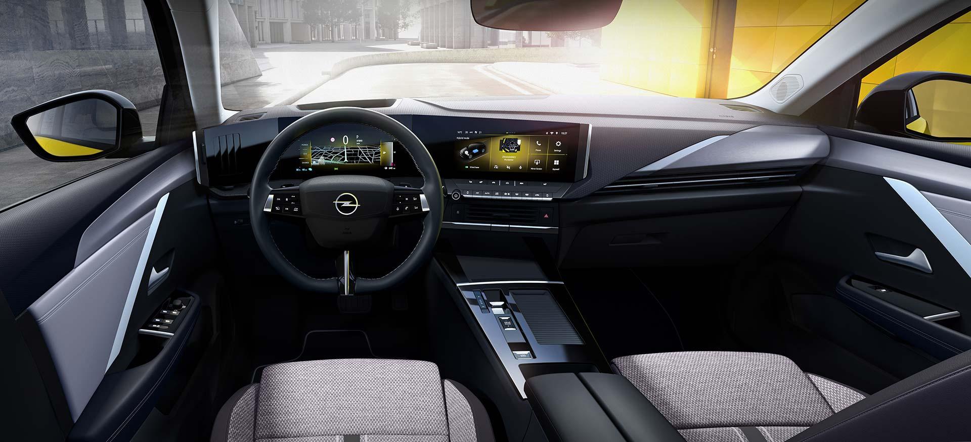 Interior Opel Astra 2022