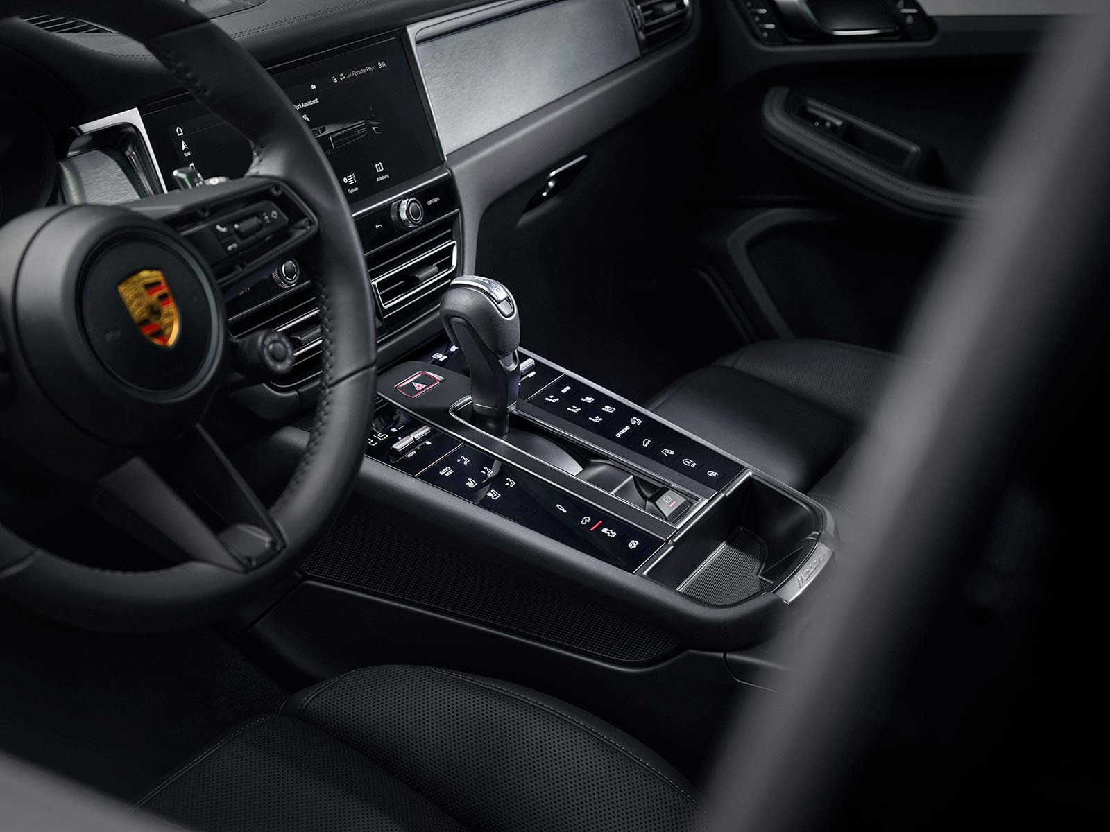 Interior nuevo Porsche Macan 2022