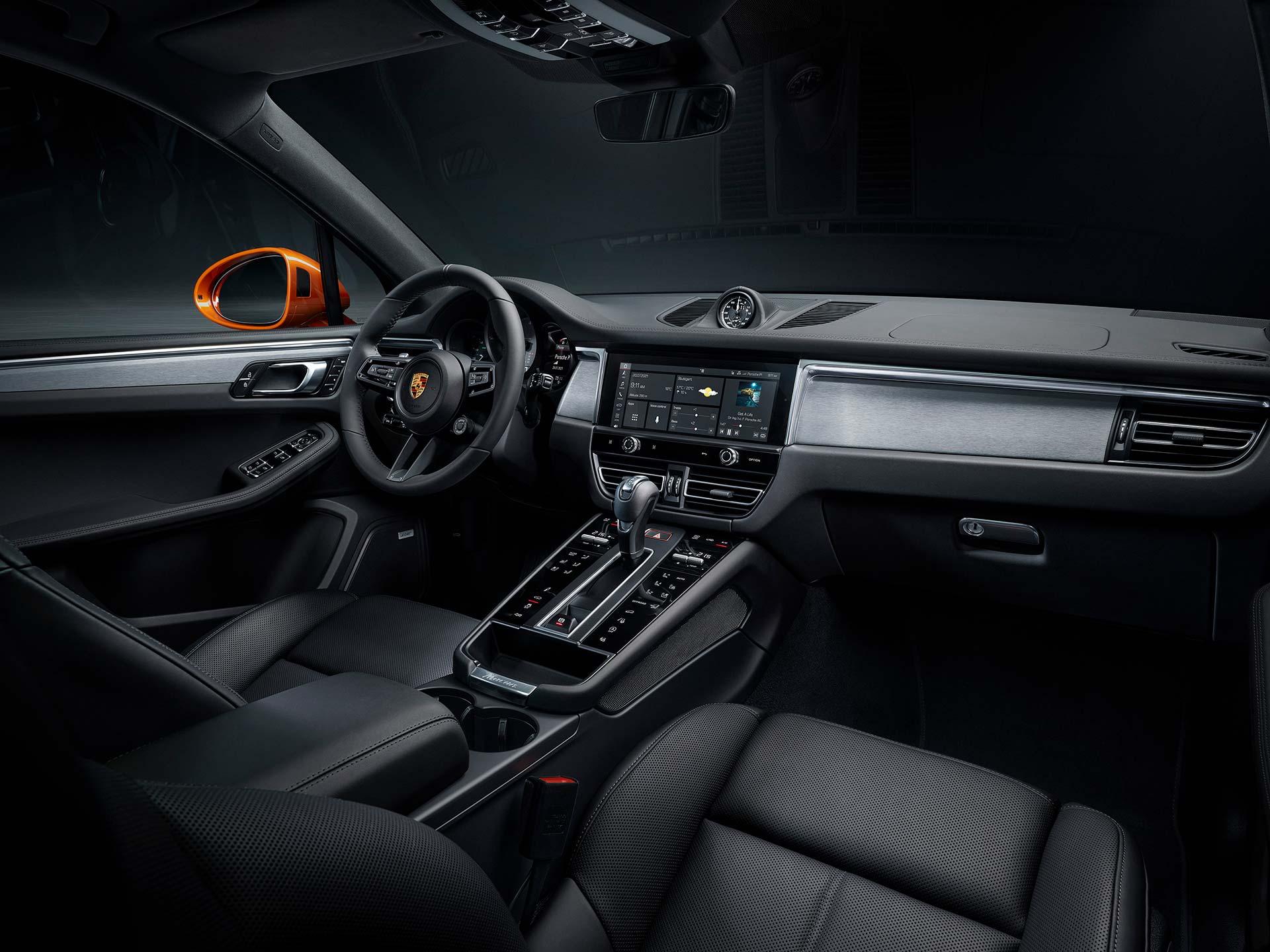 Interior Porsche Macan 2022