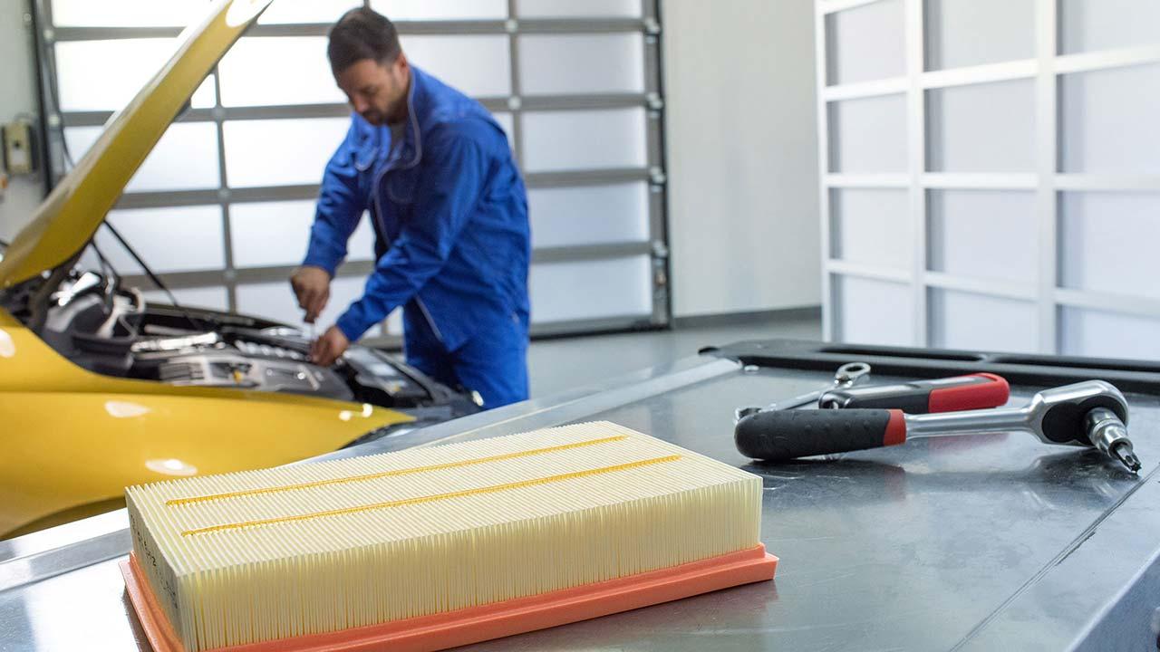 VW service mantenimiento auto