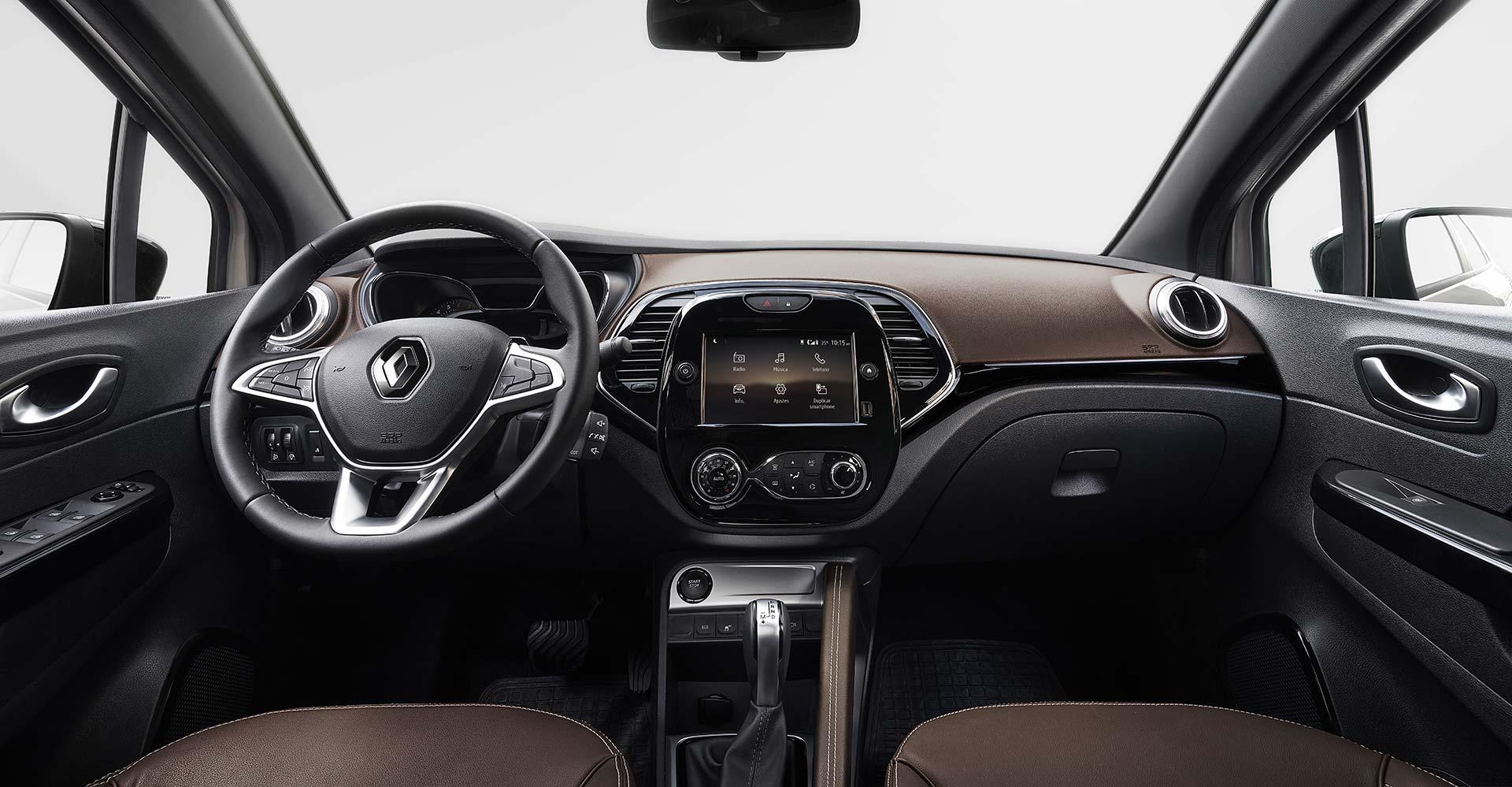 Interior Renault Captur 2022