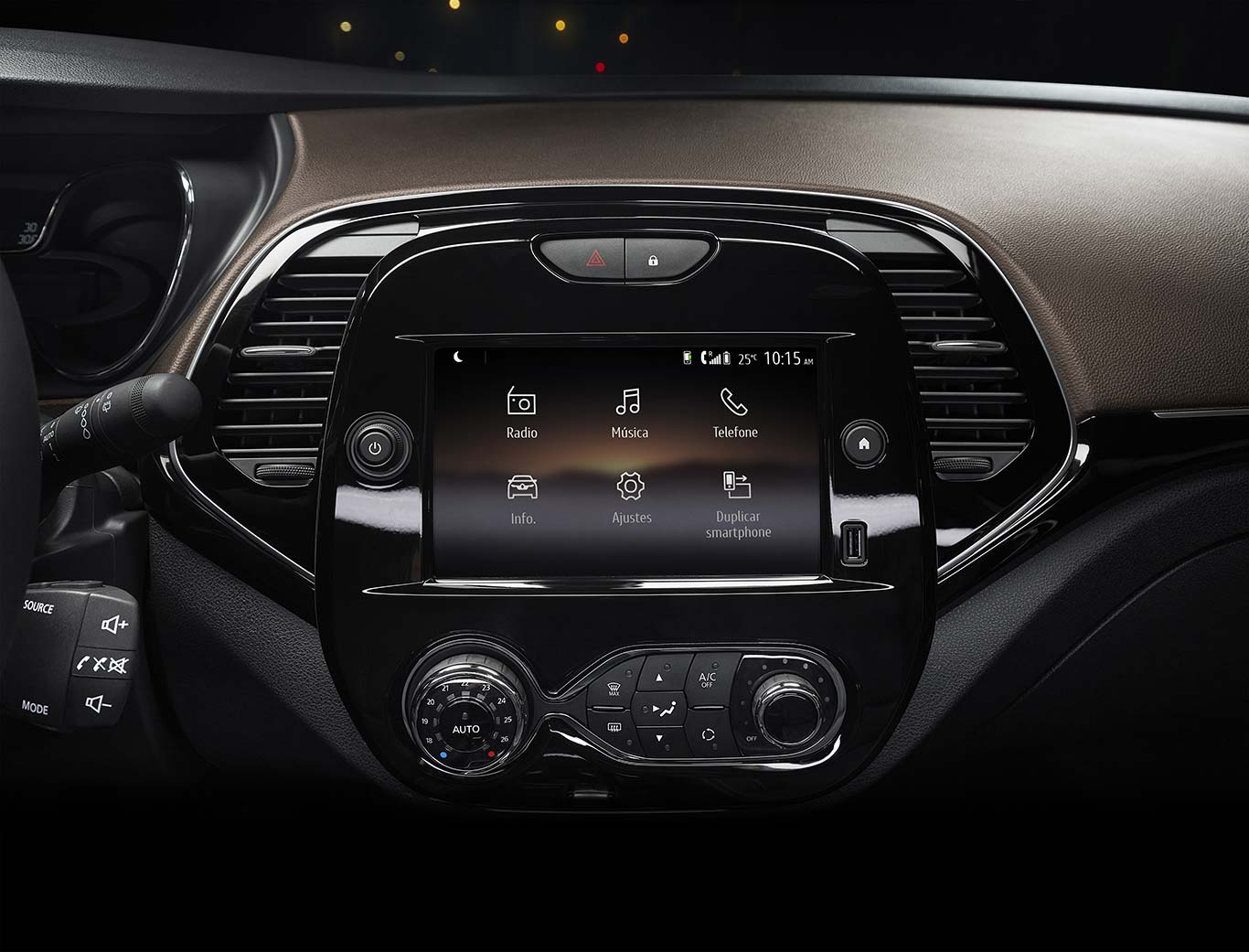 Interior nuevo Renault Captur 2022