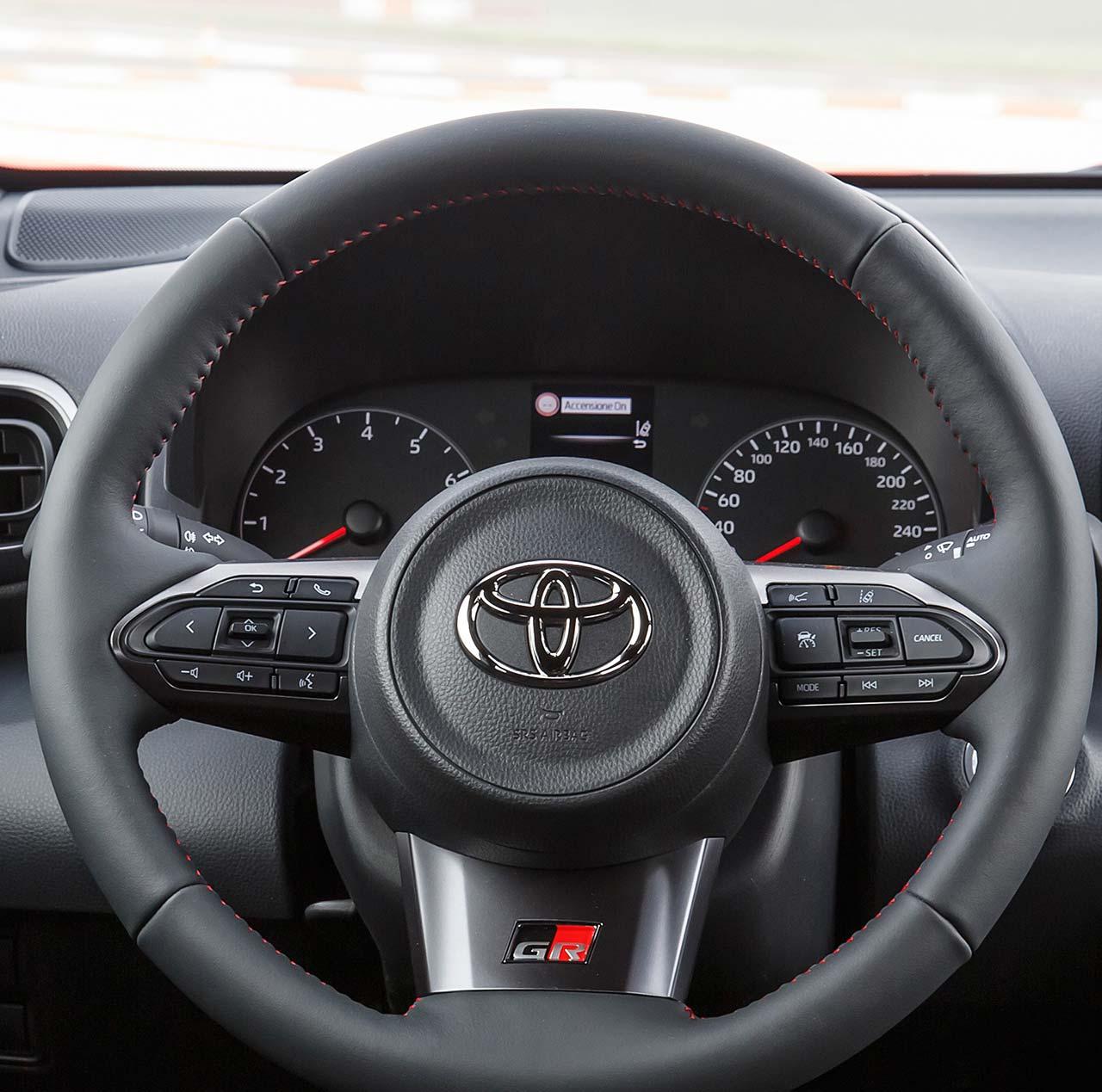 Interior Toyota GR Yaris
