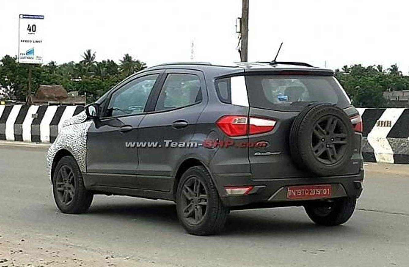 Nueva Ford EcoSport India restyling