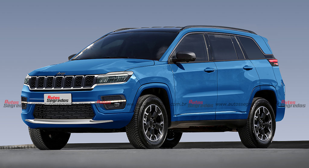 Jeep Commander 2022 render
