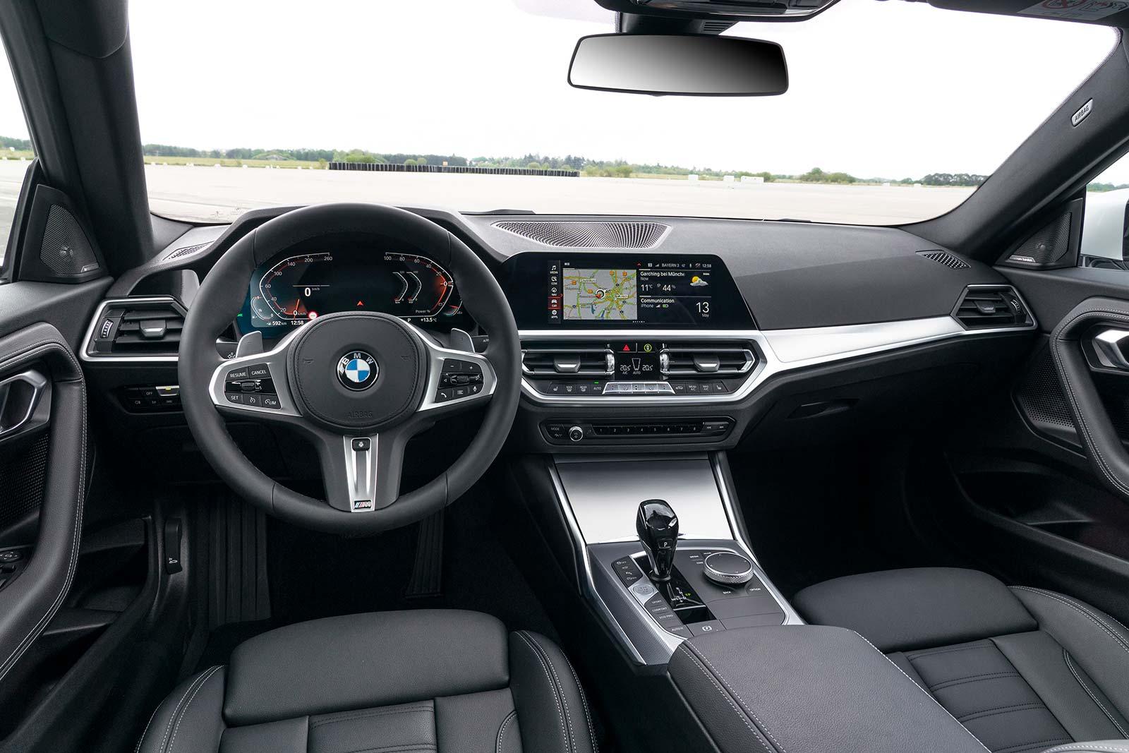 Interior Nuevo BMW Serie 2 Coupé