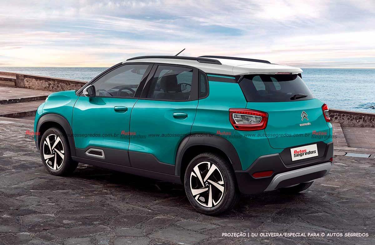 Nuevo Citroën C3 2022 render
