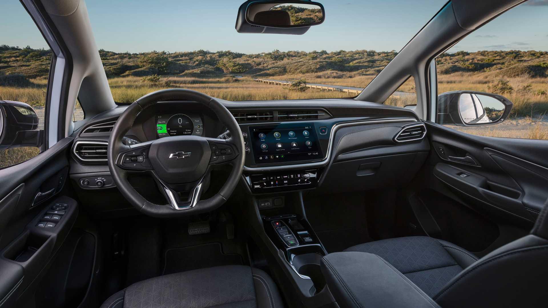 Inerior Nuevo Chevrolet Bolt EV 2022
