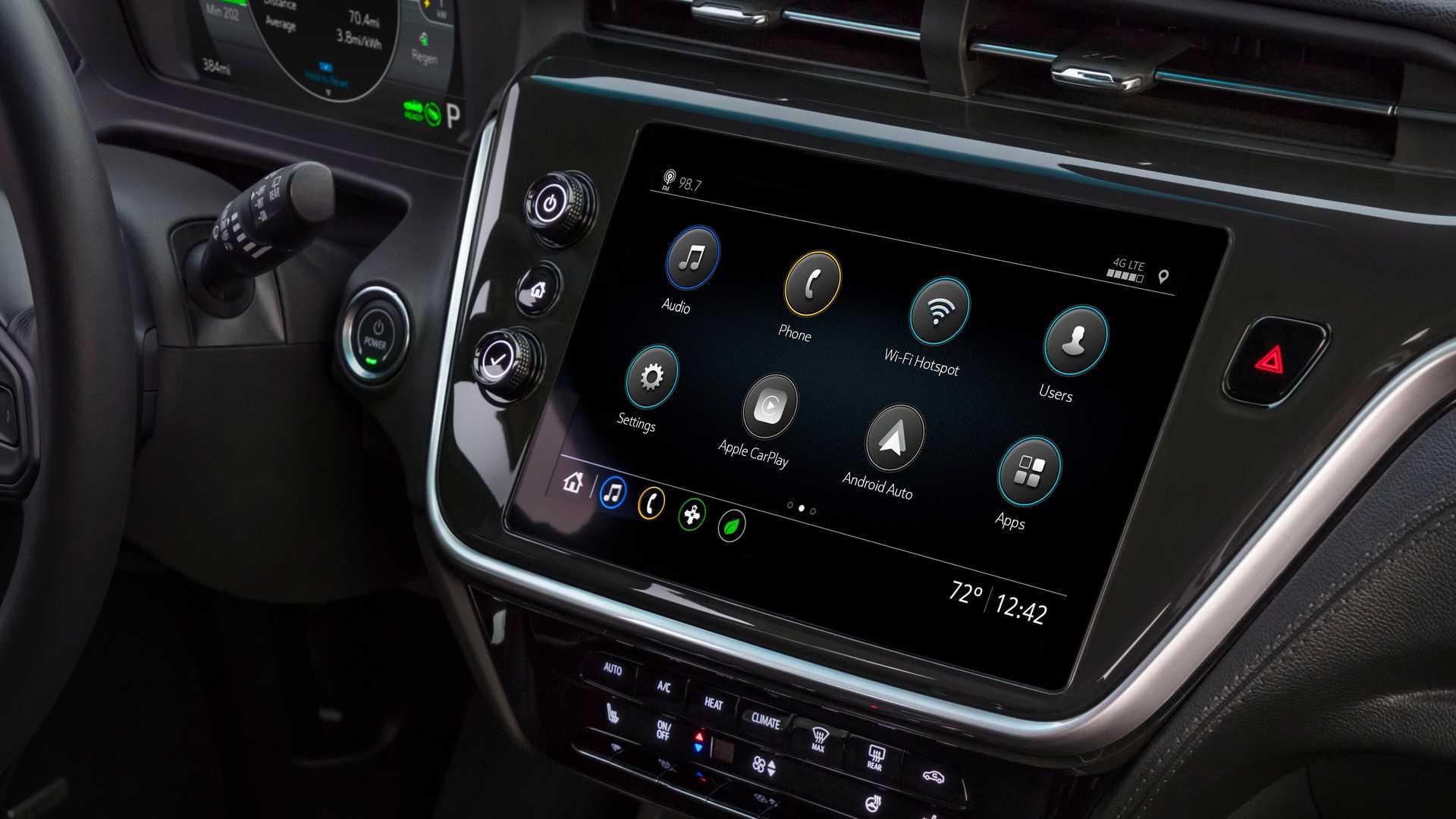 Interior Nuevo Chevrolet Bolt EV 2022