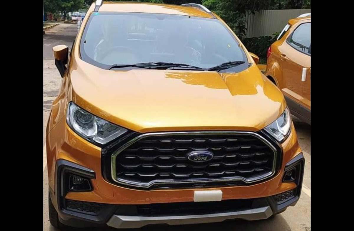 """Así es la nueva """"cara"""" de la Ford EcoSport"""