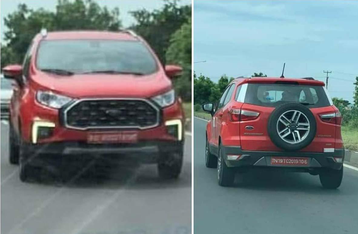Nuevo restyling Ford EcoSport