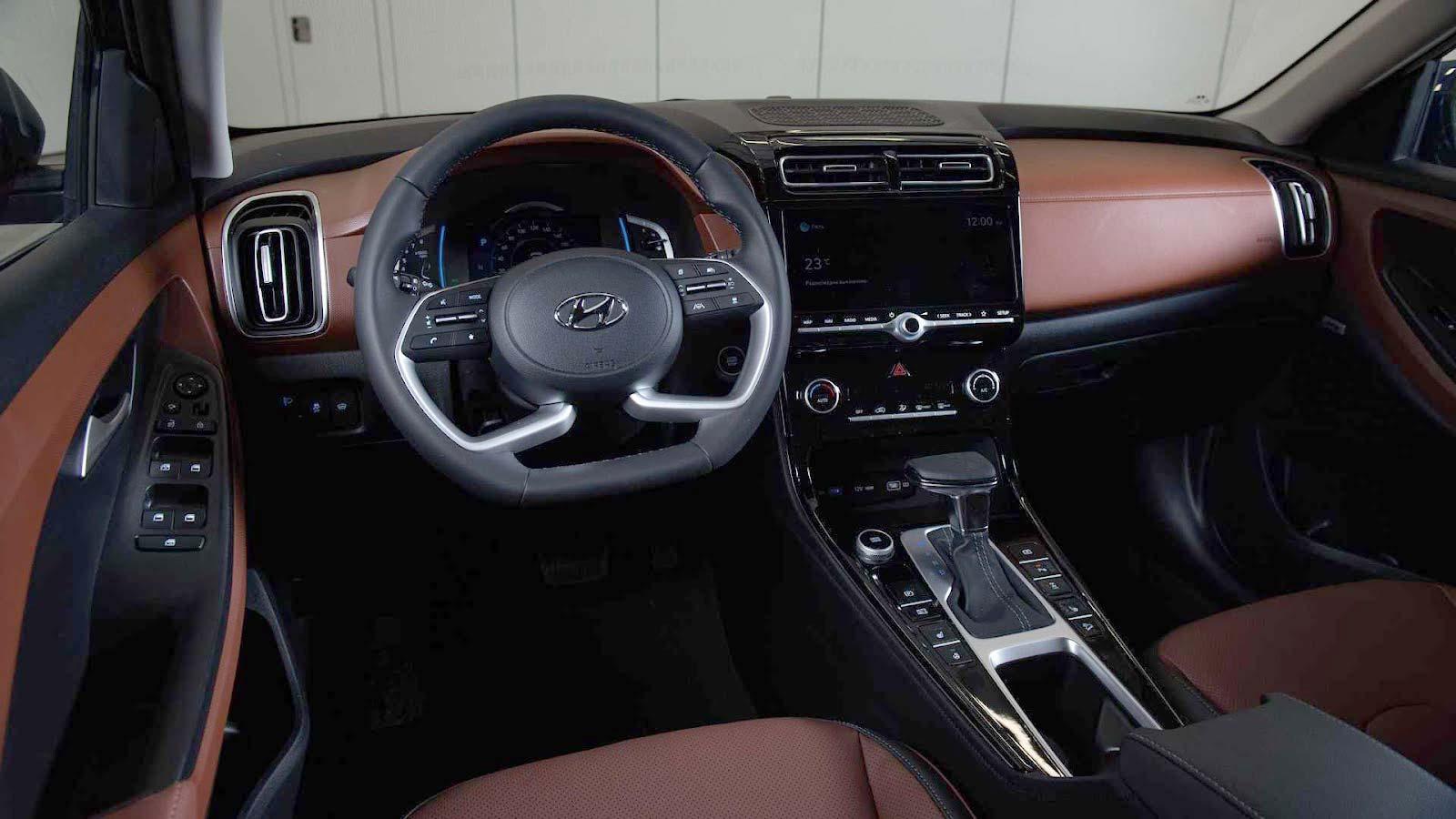 Interior nuevo Hyundai Creta