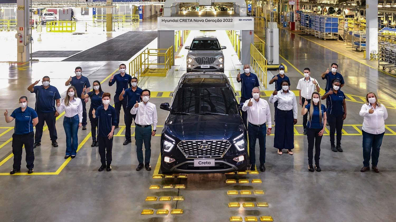 Producción nuevo Hyundai Creta