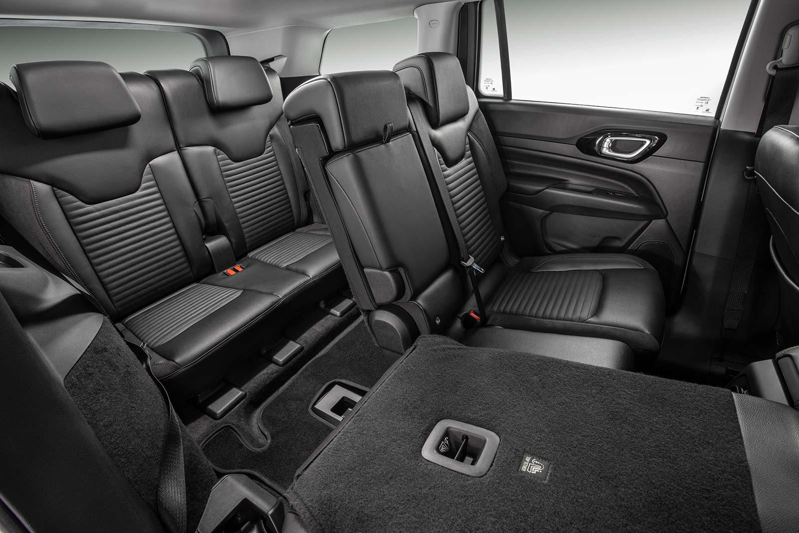 Interior Nuevo Jeep Commander