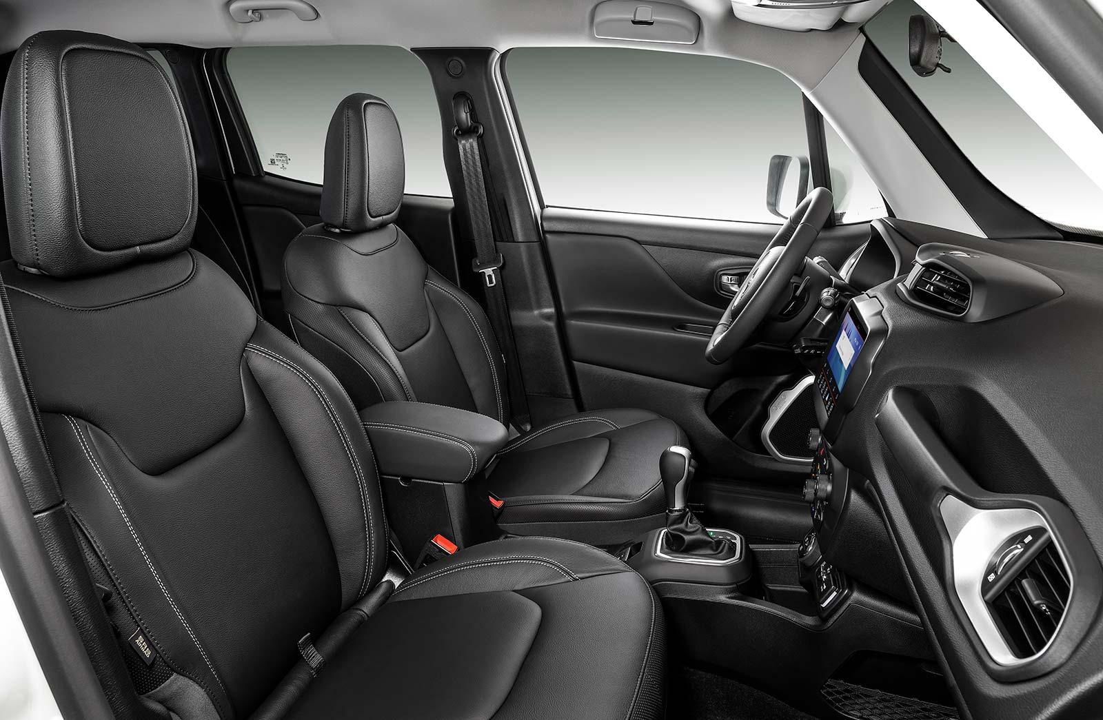 Interior Jeep Renegade Longitude
