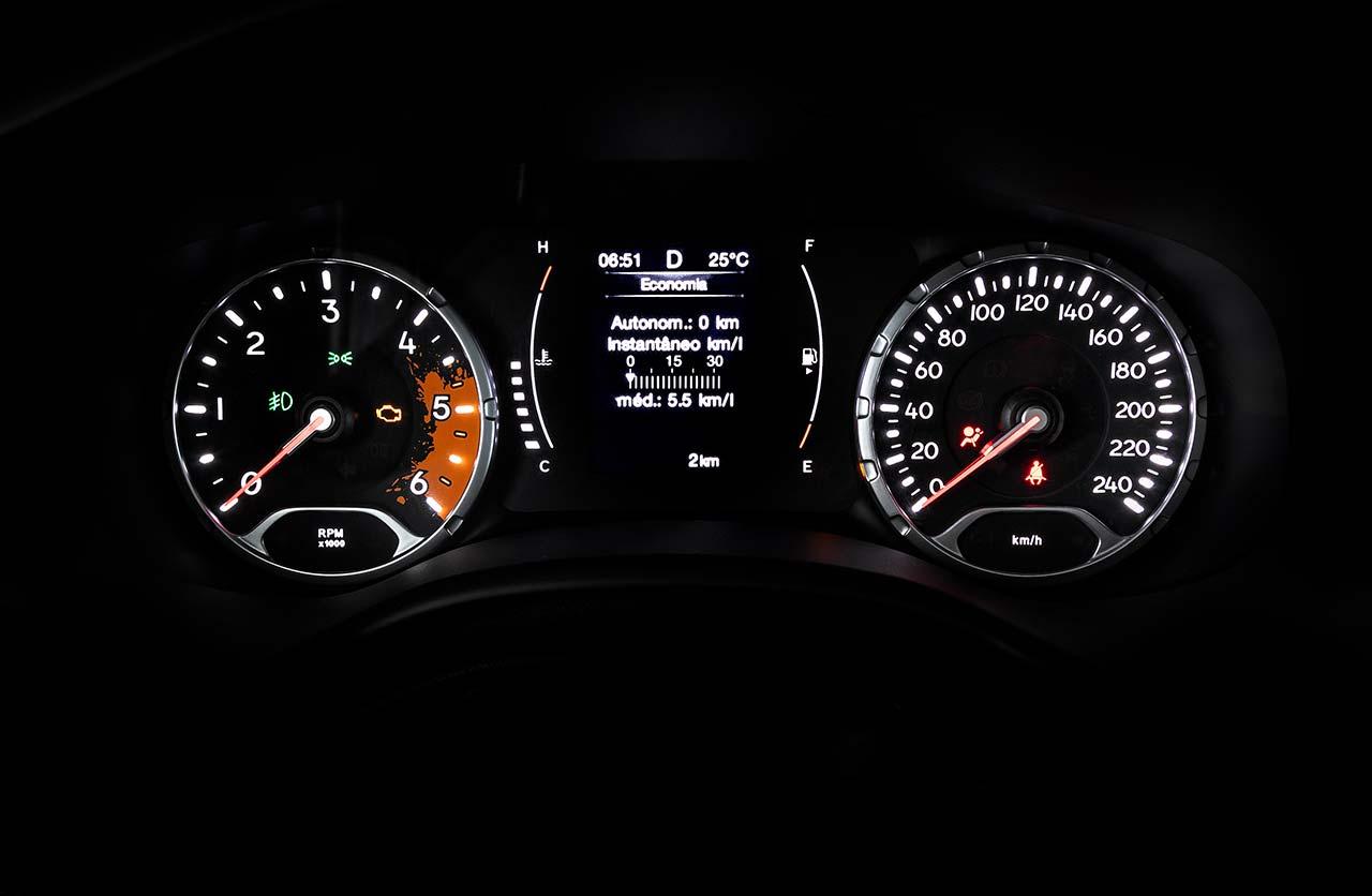 Tablero Jeep Renegade Longitude