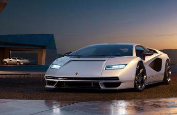 Lamborghini presentó el nuevo Countach
