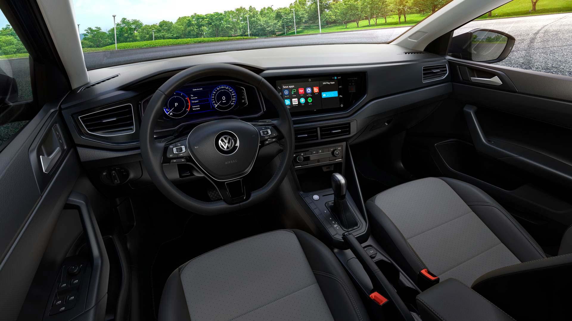 Interior Volkswagen Polo 2022