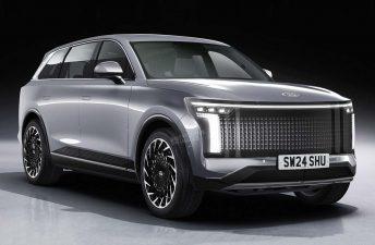 Ioniq 7: anticipan el nuevo SUV de Hyundai