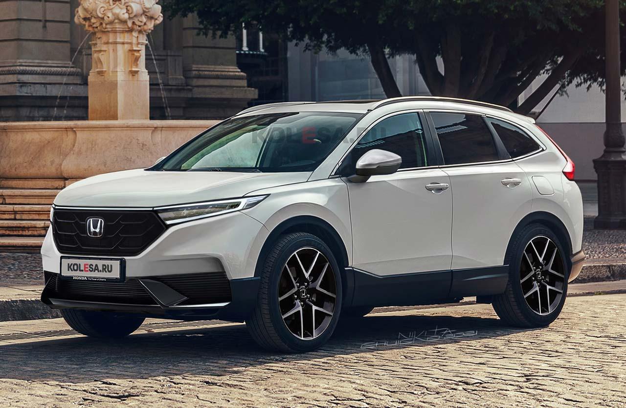 Anticipo: se viene la nueva Honda CR-V