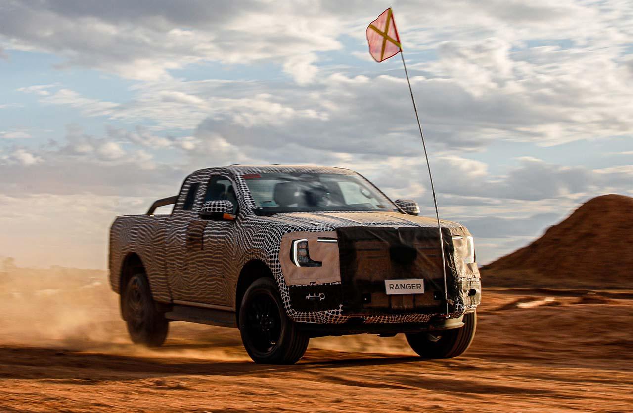 Nueva Ford Ranger 2023