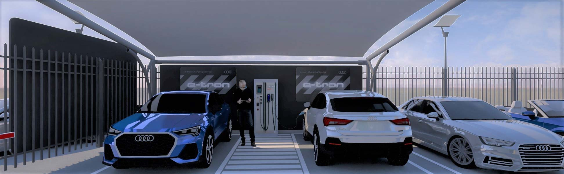 Red de carga eléctrica Audi Argentina