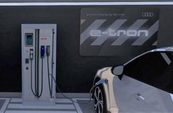 Audi inauguró su red de carga eléctrica en Argentina