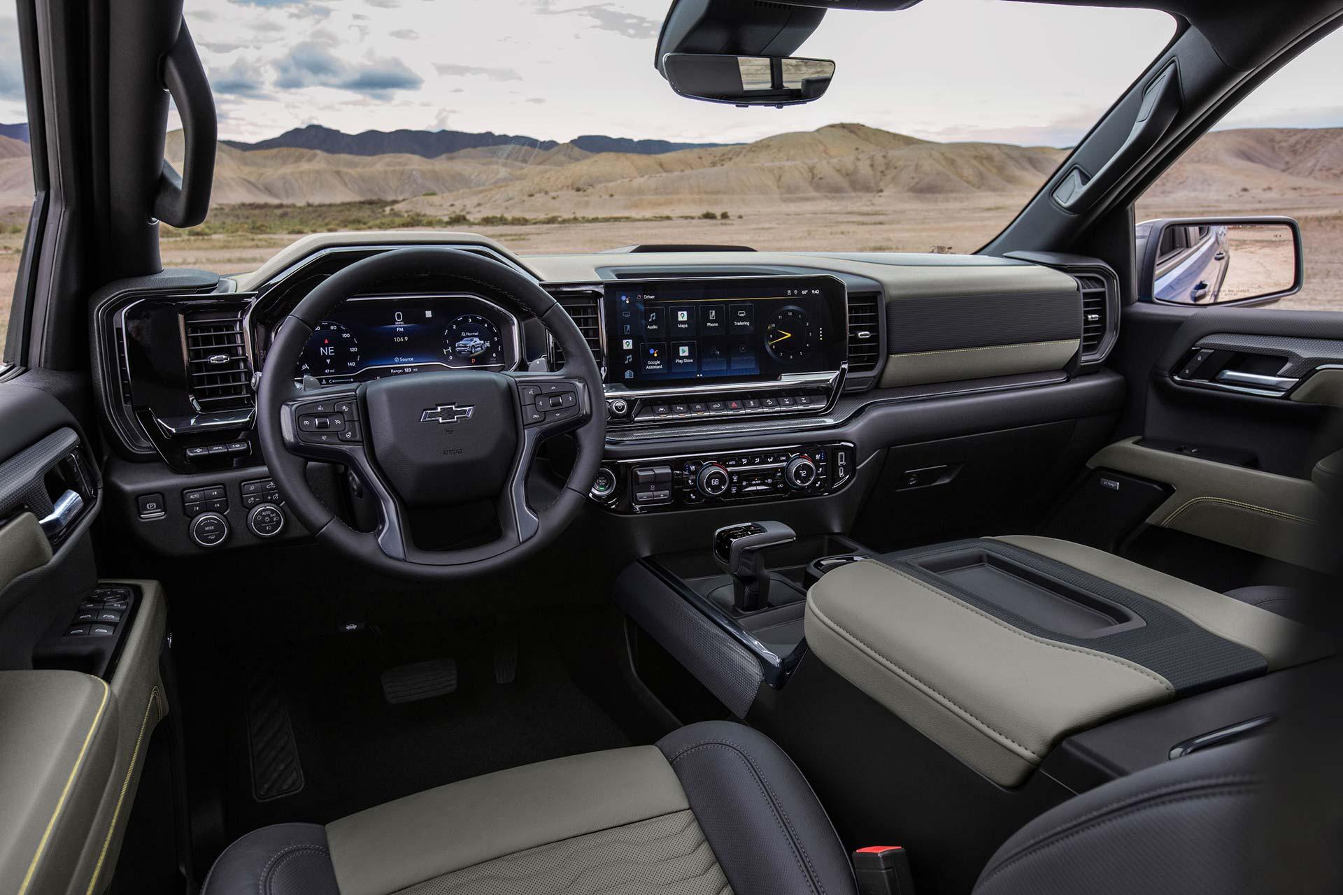 Interior Chevrolet Silverado ZR2 2022