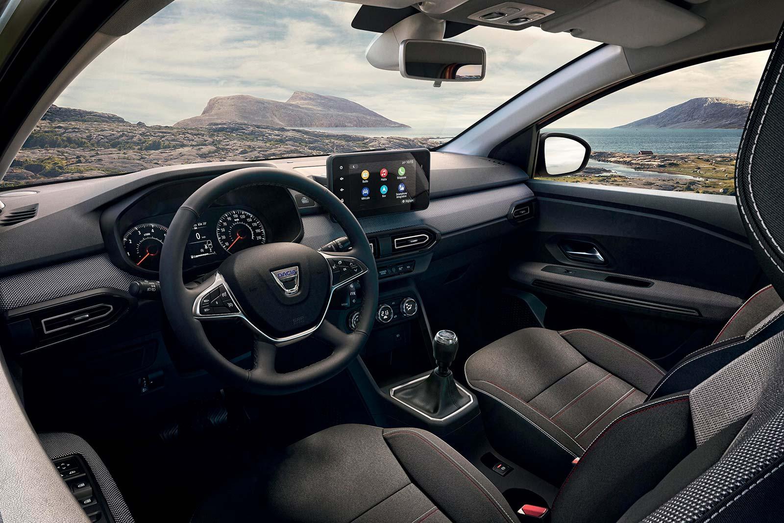 Interior Dacia Jogger